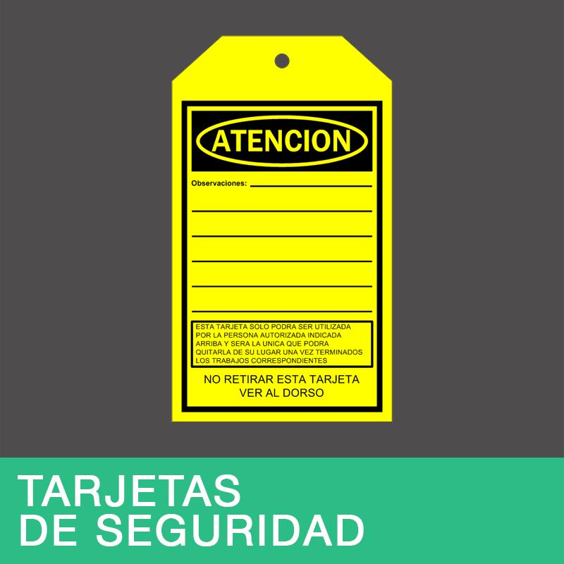 Tarjetas de Seguridad