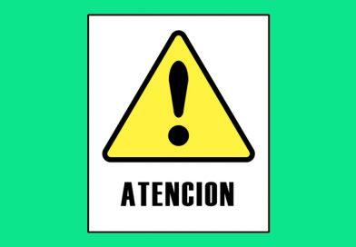 Atención 0020 ATENCION