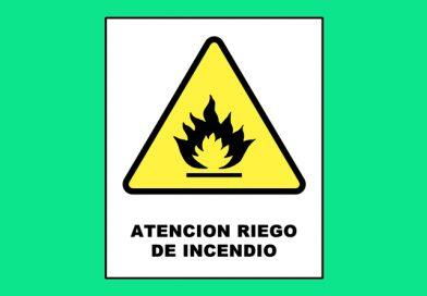 Atención 0022 RIESGO DE INCENDIO
