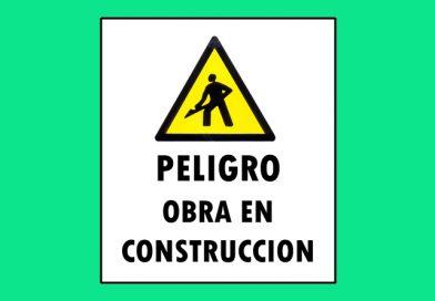 Atención 0048 PELIGRO OBRA EN CONSTRUCCION