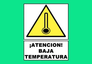 Atención 0131 ¡ATENCION! BAJA TEMPERATURA