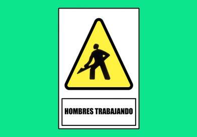 Atención 0171 HOMBRES TRABAJANDO