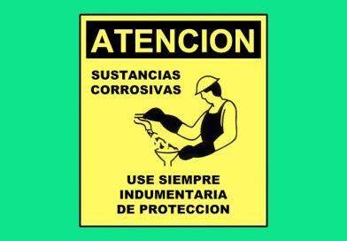 Atención 0308 SUSTANCIAS CORROSIVAS