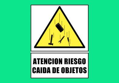 Atención 0312 RIESGO CAIDA DE OBJETOS