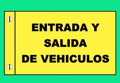 Atención 0340 ENTRADA Y SALIDA DE VEHICULOS