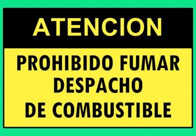 Atención 4356 PROHIBIDO FUMAR