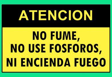 Atención 4357 NO FUME