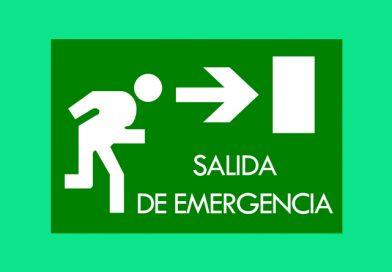 Evacuación 063 SALIDA DE EMERGENCIA