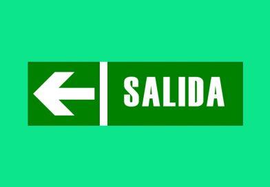 Evacuación 085 SALIDA