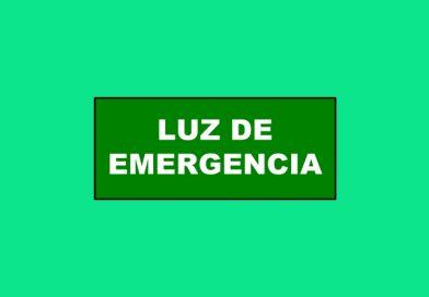 Evacuación 204 LUZ DE EMERGENCIA