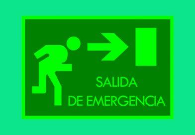 Fotoluminiscente 063 SALIDA DE EMERGENCIA