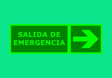 Fotoluminiscente 087 SALIDA DE EMERGENCIA