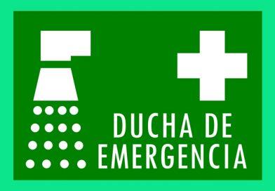 Información 065 DUCHA DE EMERGENCIA
