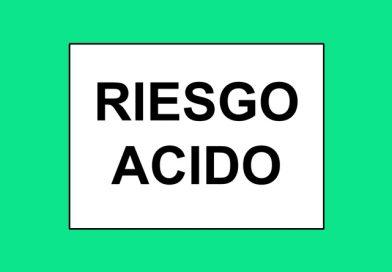 Información 107 RIESGO ACIDO