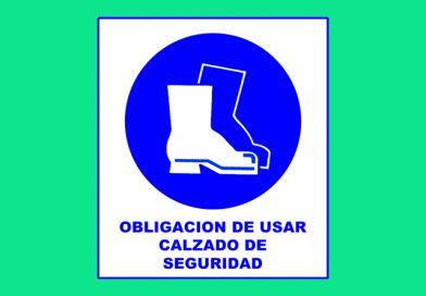 Obligación 003 DE USAR CALZADO DE SEGURIDAD