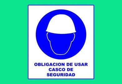 Obligación 004 DE USAR CASCO DE SEGURIDAD