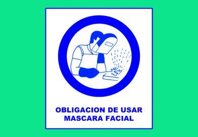 Obligación 007 DE USAR MASCARA FACIAL