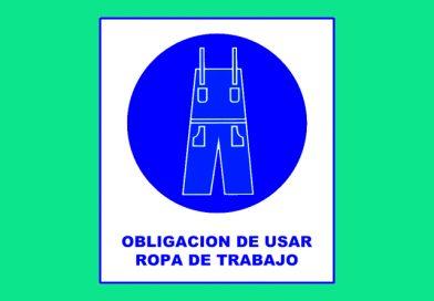 Obligación 010 DE USAR ROPA DE TRABAJO