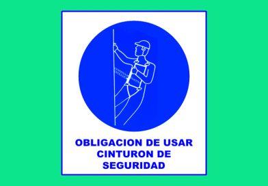 Obligación 012 DE USAR CINTURON DE SEGURIDAD
