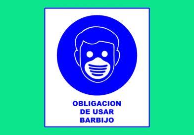 Obligación 013 DE USAR BARBIJO