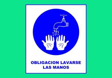 Obligación 072 LAVARSE LAS MANOS