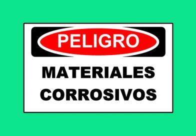 Peligro 1342 MATERIALES CORROSIVOS