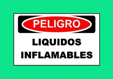 Peligro 1343 LIQUIDOS INFLAMABLES