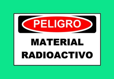 Peligro 1344 MATERIAL RADIOACTIVO