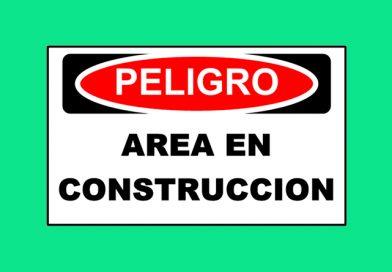 Peligro 1347 AREA EN CONSTRUCCION