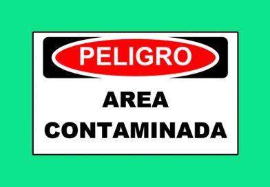 Peligro 1348 AREA CONTAMINADA