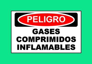 Peligro 1351 GASES COMPRIMIDOS INFLAMABLES