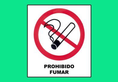Prohibido 040 FUMAR