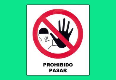 Prohibido 042 PASAR