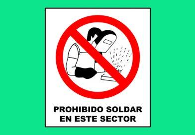 Prohibido 051 SOLDAR EN ESTE SECTOR