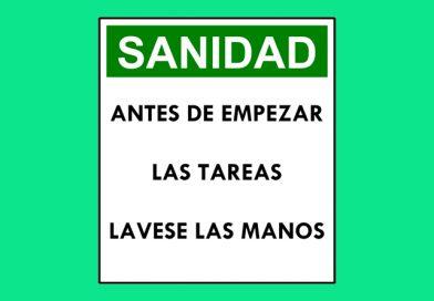 Seguridad 0037 SANIDAD ANTES DE EMPEZAR