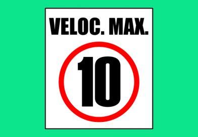 Seguridad 0056 VELOC. MAX. 10