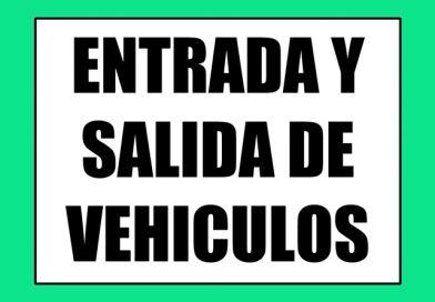 Seguridad 0066 ENTRADA Y SALIDA DE VEHICULOS