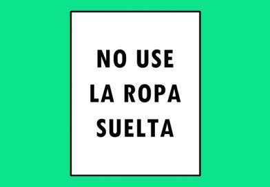 Seguridad 0111 NO USE LA ROPA SUELTA