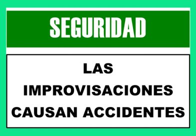 Seguridad 2315 LAS IMPROVISACIONES CAUSAN ACCIDENTES