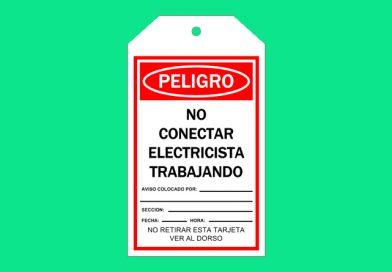 Tarjeta T01 NO CONECTAR ELECTRICISTA TRABAJANDO